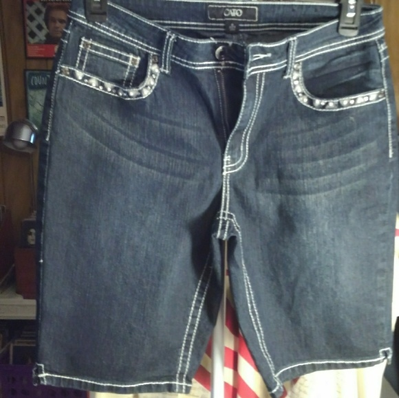 Cato Pants - Cato Jean shorts, like new never worn